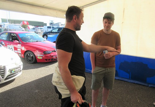 Gethin Llewellyn and Andrew Bourke discuss their exit from Race 1