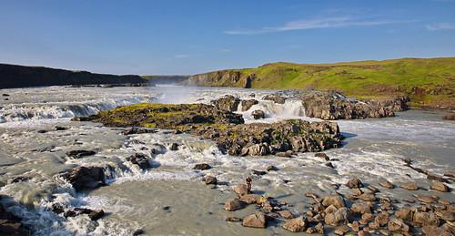 Waterfall Urriðafoss