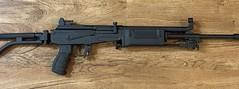 Gallant 5.56 rifle. Black Cerakote