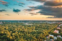 Balloons | Kaunas aerial #200/365