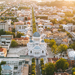 Summer evening | Kaunas aerial #201/365