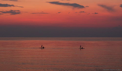 Abends am Meer / Вечер на море / Evening by sea ©  hermannmaurer