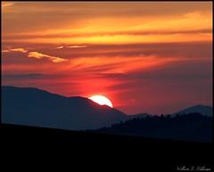 July 18, 2021 - Stunning sunset. (Bill Hutchinson)