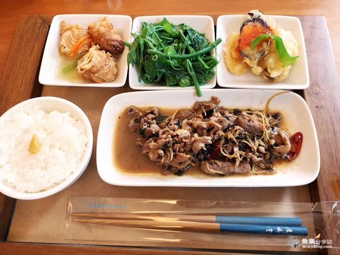 【苗栗三義】居鳩堂庭園茶屋|精緻客家料理套餐|吃完還可帶美麗筷子回家 @魚樂分享誌