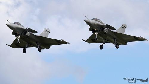 Dassault Rafale B et C ARMEE DE L'AIR 4-HC 310 4-GS 140 St-Dizier juillet 2021
