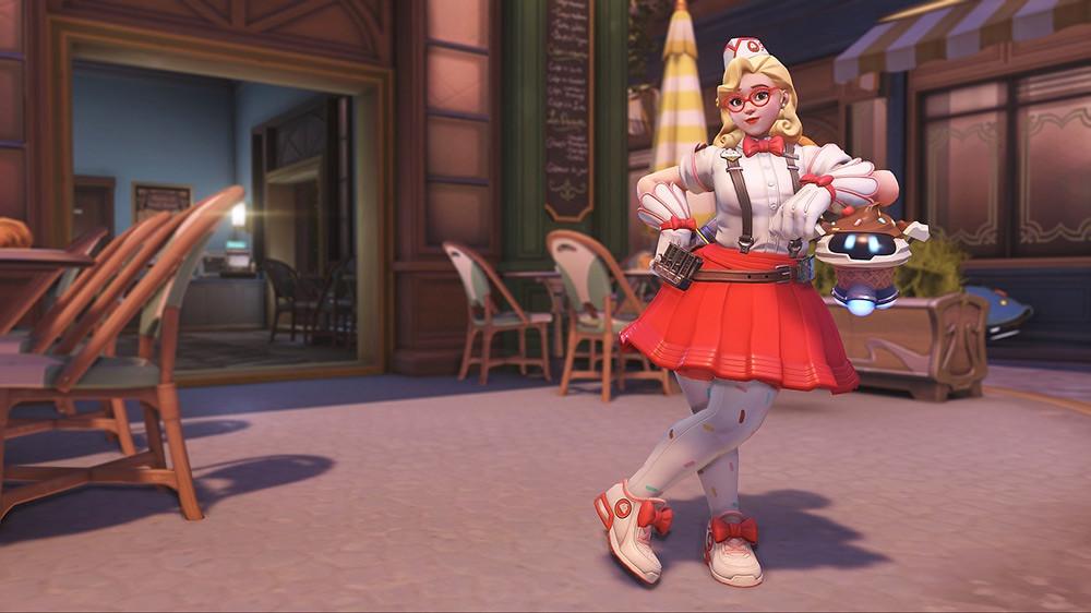 《鬥陣特攻》夏季運動會全新傳奇造型---凍淇淋小美,準備與玩家一起動起來