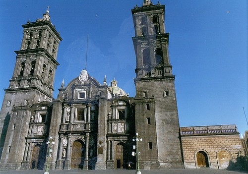 Puebla, Mexico - Cathedral of the Immaculate Conception