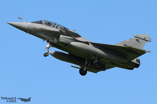 Dassault Rafale B ARMEE DE L'AIR 4-FO 348 St-Dizier juillet 2021