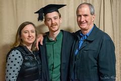 Joel graduated