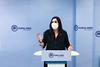 Beatriz Jimenez en rueda de prensa en Cuenca (23/7/21)