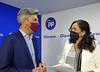 Andrés Lorite y María de la O Redondo en rueda de prensa en Cordoba (23/7/21)