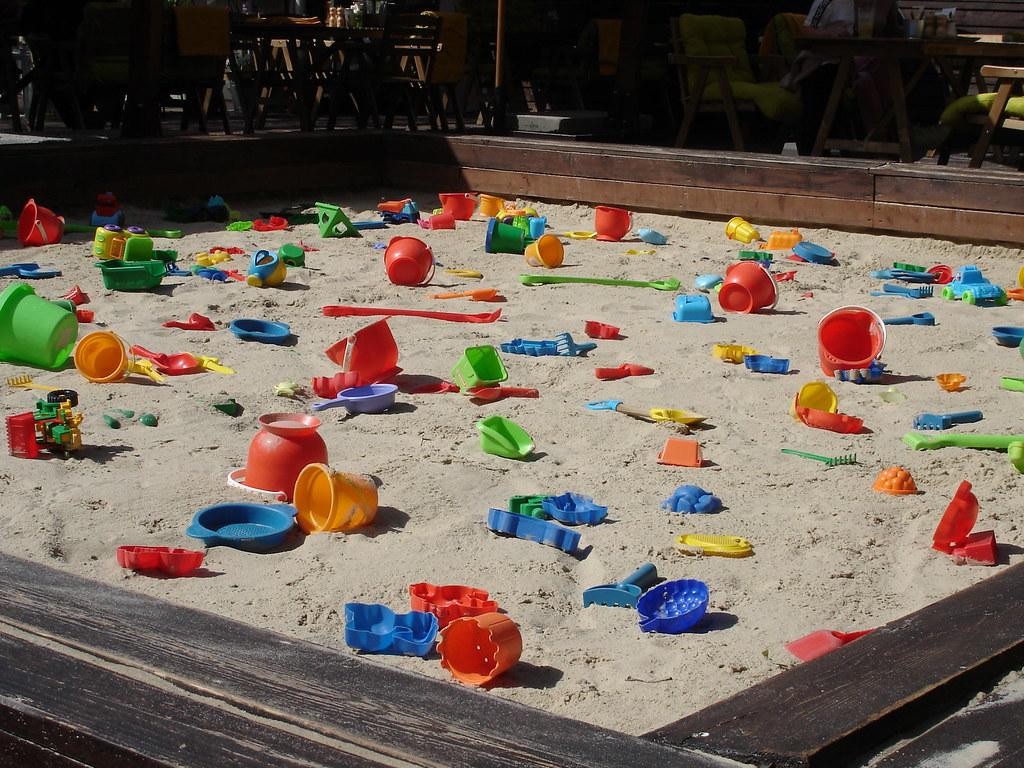 фото: Песочница у Донны Оливии