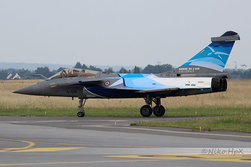 Dassault Rafale C Armée de l'Air 4-GR
