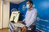 Juan Diego Requena en rueda de prensa en Jaén (23/7/21)