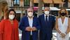Carmen Riolobos y Vicente Tirado en rueda de prensa en Toledo (23/7/21)