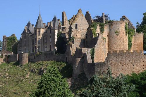 Le château de Bressuire