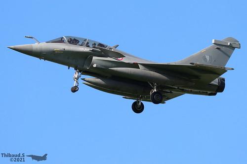 Dassault Rafale B ARMEE DE L'AIR 4-FQ 350 St-Dizier juillet 2021