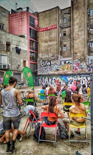 Barcelona. Día mundial de los malabares. Ciutat Vella.