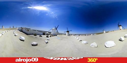 Molinos   Campo de Criptana   Ciudad Real   360º