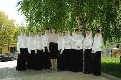 17 Студентки Регентской школы. 2015 г.