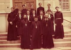 6 Выпуск первого курса Ставропольской Духовной семинарии. Май 1990 г.