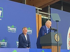 """McAuliffe rally with Biden, Jul 2021 • <a style=""""font-size:0.8em;"""" href=""""http://www.flickr.com/photos/117301827@N08/51335755597/"""" target=""""_blank"""">View on Flickr</a>"""