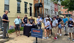 """Alexandria Dems canvass, Jul 2021 • <a style=""""font-size:0.8em;"""" href=""""http://www.flickr.com/photos/117301827@N08/51335762327/"""" target=""""_blank"""">View on Flickr</a>"""