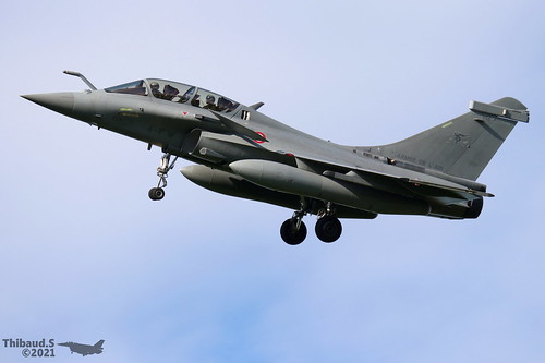 Dassault Rafale B ARMEE DE L'AIR 4-FW 356 St-Dizier juillet 2021