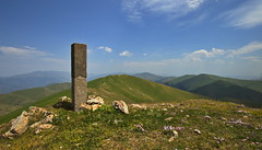 At the Top of Great Maymekh Mountain, Armenia