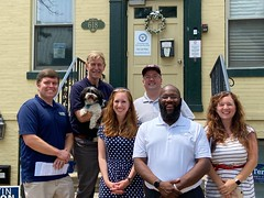 """Alexandria Dems canvass, Jul 2021 • <a style=""""font-size:0.8em;"""" href=""""http://www.flickr.com/photos/117301827@N08/51337220364/"""" target=""""_blank"""">View on Flickr</a>"""