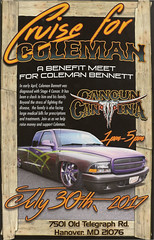 Cruise For Coleman Front