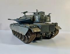 Pete Davis's 1/35th Academy Magach 6Gal Batash Tank