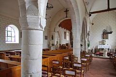 Intérieur de l'église Saint-Martin