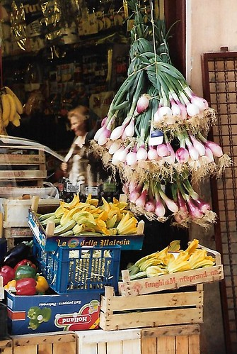 Lucca, greengrocer