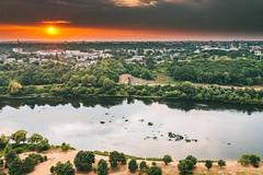 Sunset | Kaunas aerial #208/365