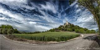 The big bend. (Lleida - Catalonia).