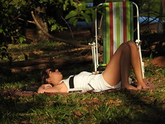 Descanso no Bosque Sensorial