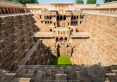 Chand Baori stepwell, Abhaneri, Rajasthan, India.