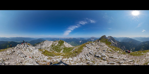 Admonter Kaibling, 360° Panorama