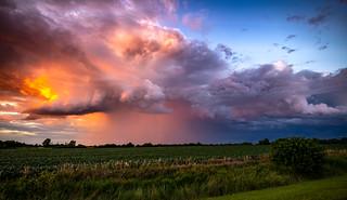 Rain of Fire - Beecher, Illinois - August 2020