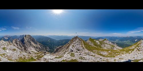 Sparafeld, 360° Panorama