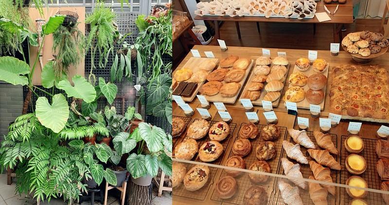 【台南美食】小鹿家 麵包店 老饕們才!隱身安南區巷內的網美植栽烘焙坊!