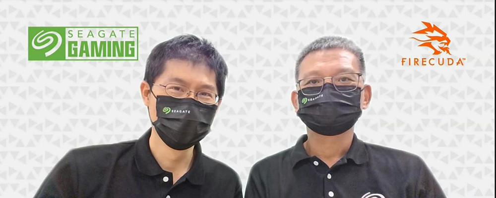 Seagate-Technology-資深業務工程經理朱秋男及資深工程經理蕭慶信共同出席線上發表會