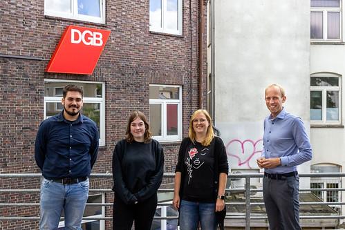 Mit der DGB-Jugend habe ich in Oldenburg über gute Bedingungen für junge Menschen diskutiert.