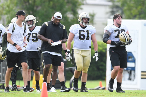 Saints 2021 training camp by Parker Waters (76)