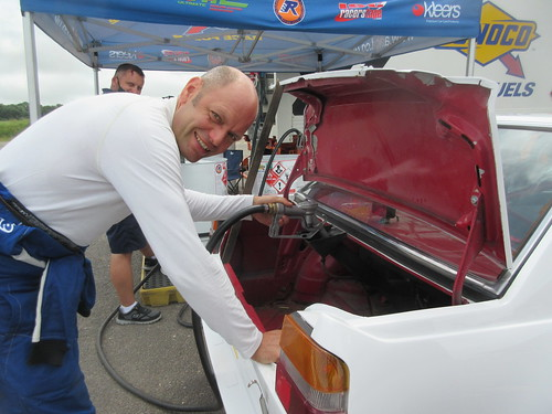 Alex Jupe has been a strong supporter of the Classic Alfa challenge