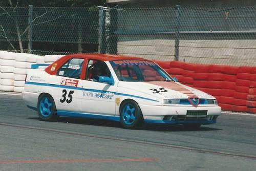 Tim Dackombe at Spa in 2000