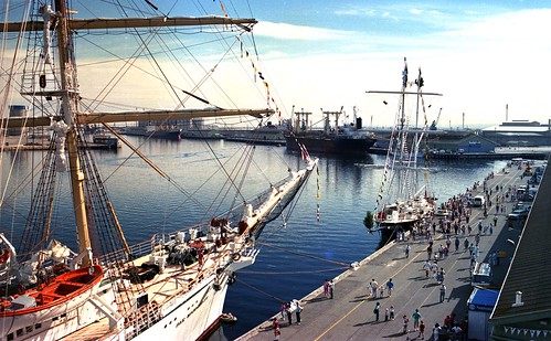 Dar Mlodziezy at Port Adelaide