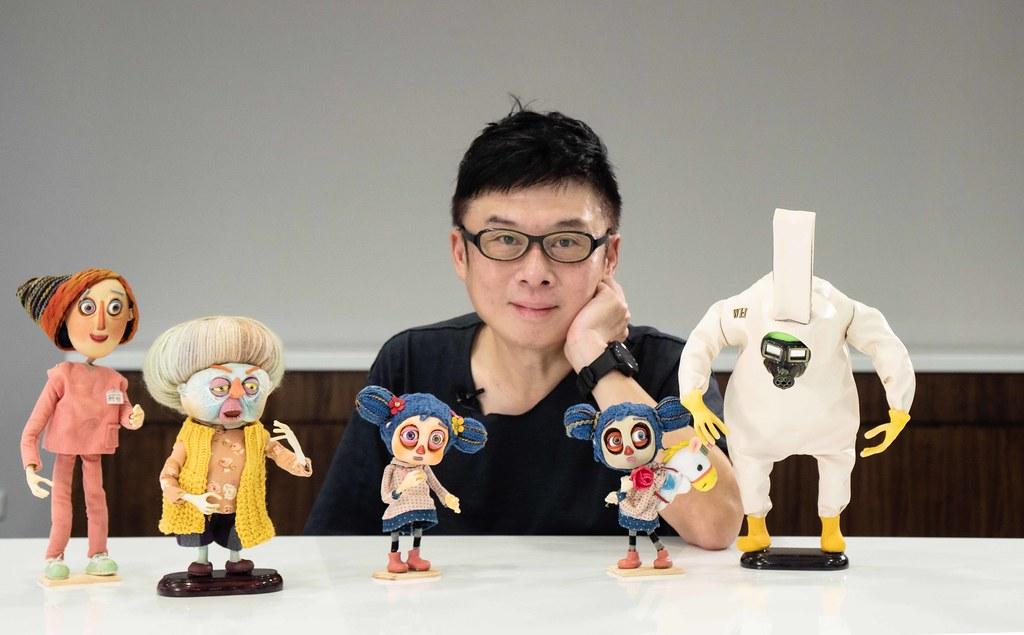 HTC VIVE ORIGINALS總經理 暨《病玫瑰》製片人 劉思銘照片