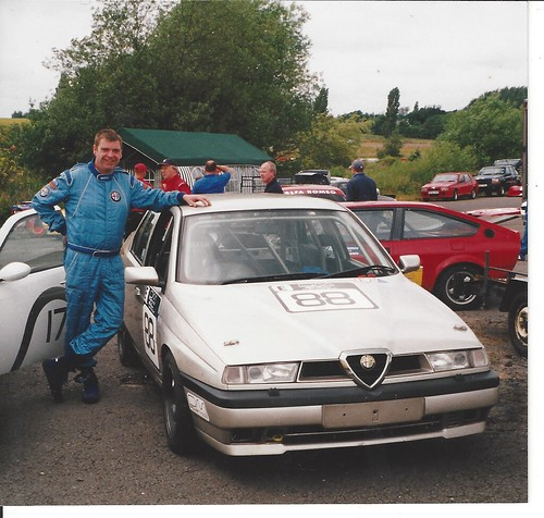Les Gorman with his 16v 155